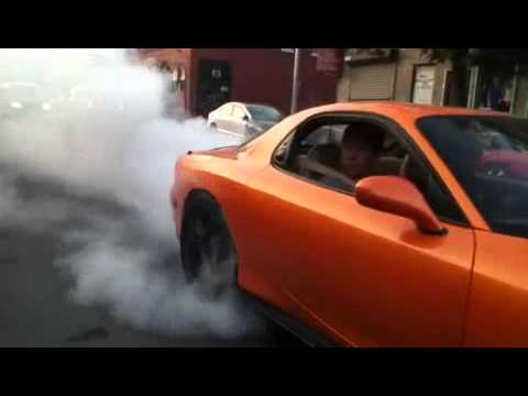 Auto Racing Nascarcom on Racing   Mazda Rx7 Fd3s 500hp Garrett T04z Massive Burnout   Quick