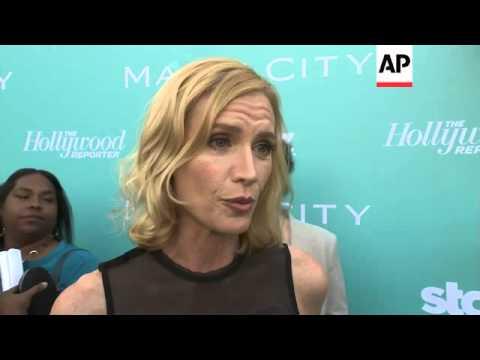 TV Cast Talk About New Season, Plus Co-stars Huston And Kurylenko On Finding Love On Set
