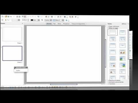 Créer un diaporama interactif grâce à OpenOffice