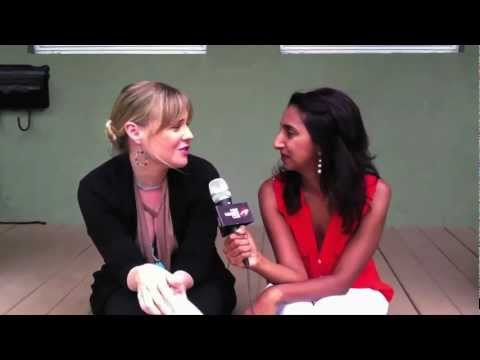 Kristin Booth Interview - First Weekend Club on the set of