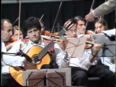 Costas Cotsiolis concierto de Volos by Leo Brouwer Live