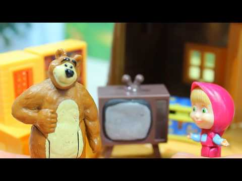 Маша и Медведь ФИКСИКИ -  РАЗБИТЫЙ ТЕЛЕВИЗОР Мультик для детей Masha and The Bear Fixiki
