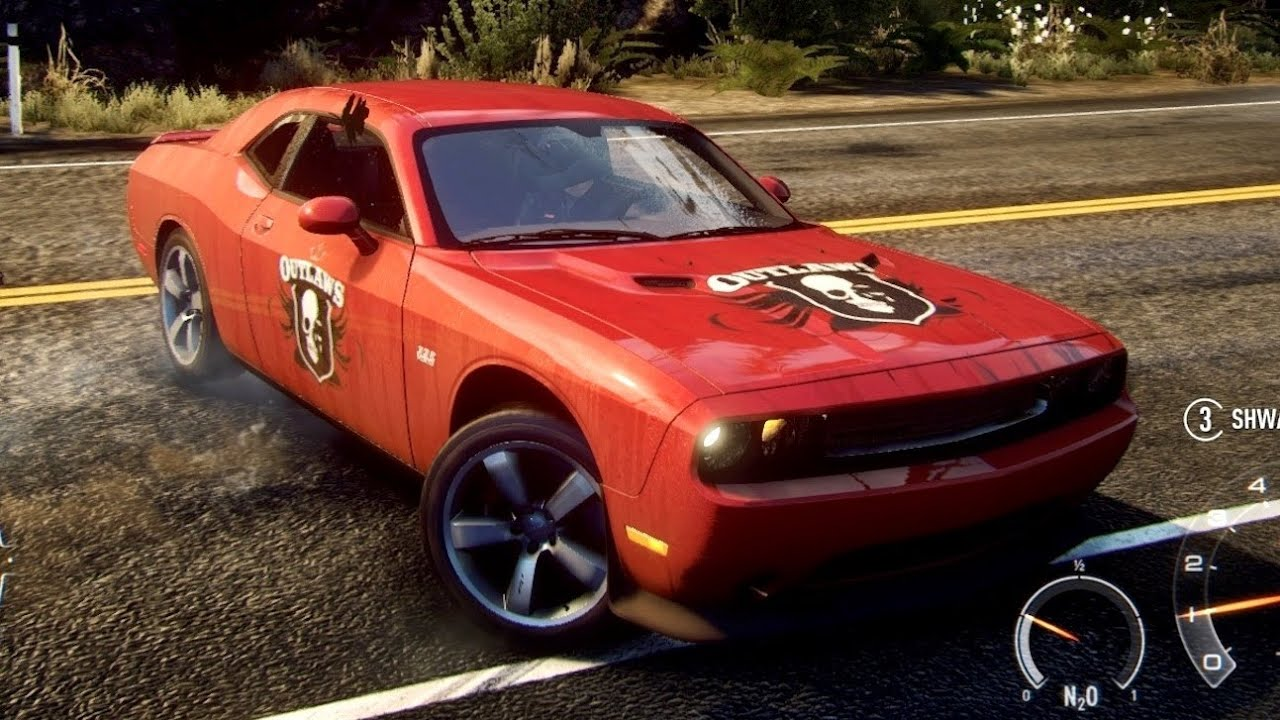 Need For Speed Rivals Police Chase Dodge Challenger Srt8