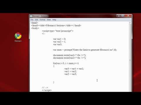 fibonacci series program in java