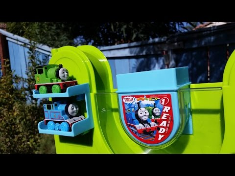 Thomas And Friends Toy Trains Percy N Thomas Color Changer Bath Play Set Part 1 video