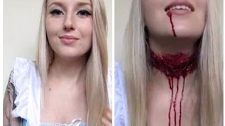 Decapitated Alice In Wonderland Halloween Tutorial ♡ Off With Her Head