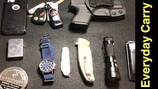 Everyday Carry | EDC | Pocket Dump | Urban Carry