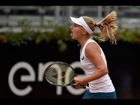 2016 Internazionali BNL d'Italia Second Round | Daria Gavrilova vs Simona Halep | WTA Highlights