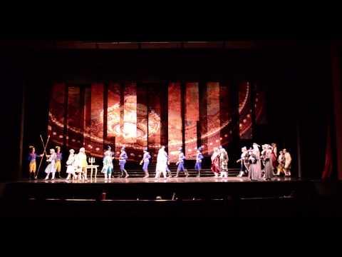 Ópera Um Baile De Máscaras Ato 1. Por Fernand Filmes video