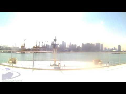 Docking maneuver @ Port of Singapore