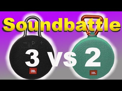JBL Clip 3 vs. Clip 2 - binaural test SoundBattle