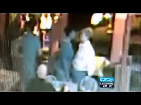 Elderly Couple attacked in Restaurant