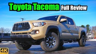 2019 Toyota Tacoma: FULL REVIEW + DRIVE | The Mid-Size Off-Road King!