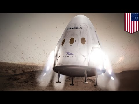Mission to Mars: SpaceX to send Dragon spacecraft to the Red Planet by 2018 - TomoNews