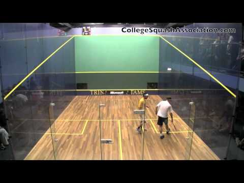 Men's College Squash: 2011 Yale and Trinity #3s