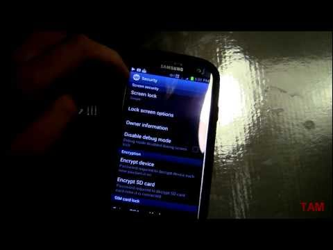 Samsung Galaxy S3 Voice commands cmd- Lockscreen- Tutorial