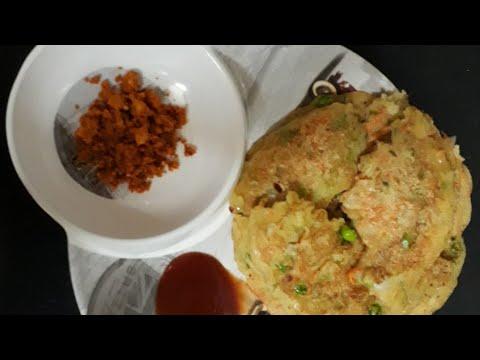 Tasty n yummy ghee roast rava uttapam lll....