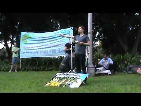 Monsanto Protest Sydney Australia 24.05.2014