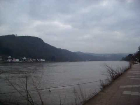 Position of Ludendorf bridge at Remagen
