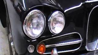 Lagonda Rapide 1962 engine bay & engine sound