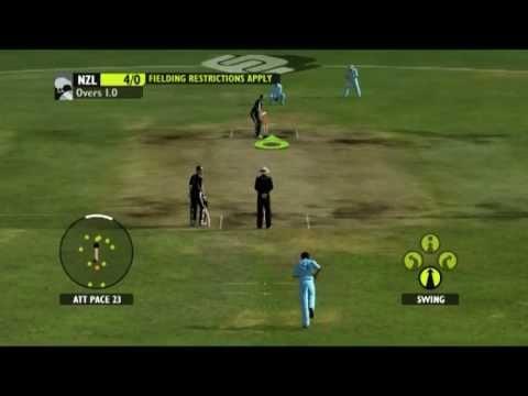 India Vs NewZealand part-1 (Ashes Cricket 2009)