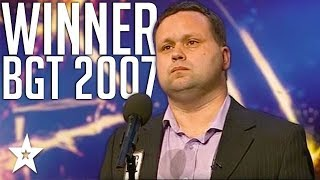 Unforgettable Opera Performances Paul Potts On Britain 39 S Got Talent Got Talent Global