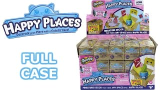 Shopkins Happy Places Blind Box Full Case Unboxing Delivery Boxes Opening Entire Case