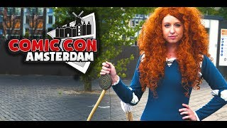 Amsterdam COMIC CON 2017 :: Best Cosplays :: 4k Cosplay Video - Sevenblade