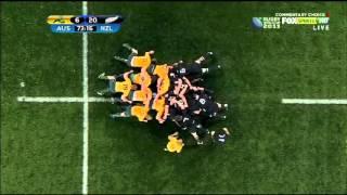 RWC 2011 semi final - All Blacks v Australia .. 2nd half