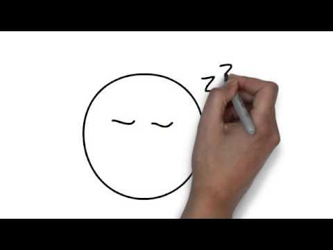 How To Draw Sleep Emoticon