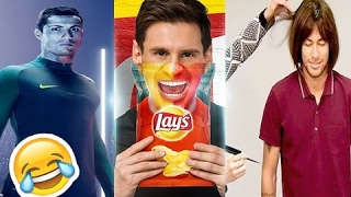 Top 10 Funny Football Commercials ft. Cristiano Ronaldo, Lionel Messi, Neymar Jr, Ronaldinho