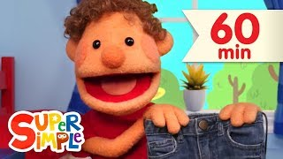 This Is The Way We Get Dressed | + More Kids Songs | Super Simple Songs