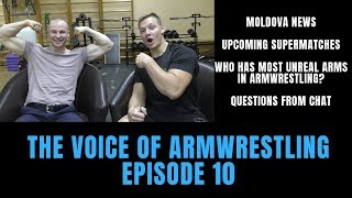 The Voice of Armwrestling Episode 10 Arm wrestling Podcast