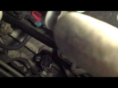 2002 GMC ENVOY HOW TO CHANGE THE CRANKSHAFT SENSOR