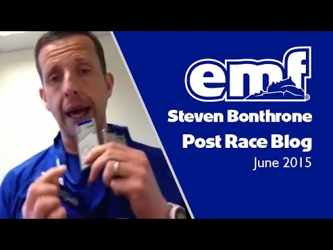 Steve Bonthrone - Edinburgh Marathon Festival 2015 - post race blog