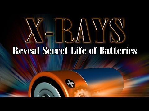 Public Lecture—X-rays Reveal Secret Life of Batteries