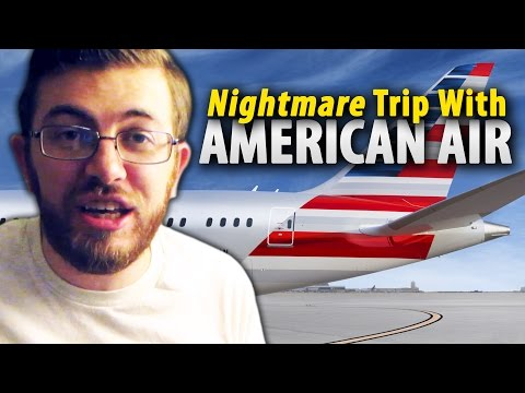 Don't Fly @AmericanAir! - My Nightmare Travel Experience