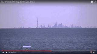 Flat Earth Dishonesty: Zooming in on the horizon, Toronto