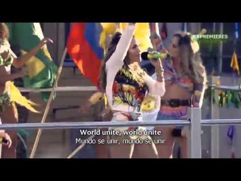 Pitbull  - We Are One ft  Jennifer Lopez FIFA World Cup  LYRICS SONG