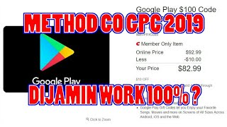METHOD CO GPC ( GOOGLE PLAY CARD ) 2019 ! PART 2