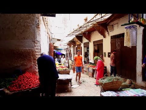 Walking in FES / MOROCCO - Séta Fesben / Marokkó