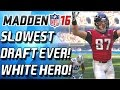 WHITE MEN CAN JUMP! BEST UNKNOW RECIEVER! SLOWEST DRAFT! - Ma...