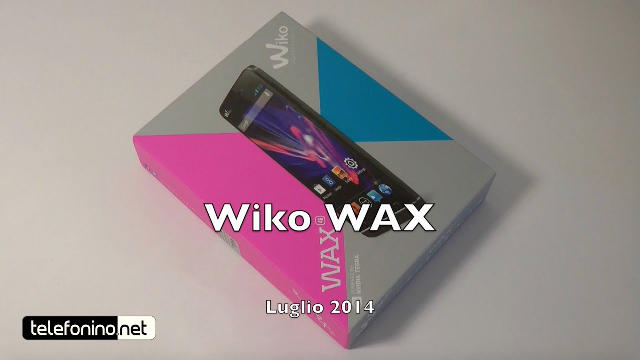 wiko wax recensione