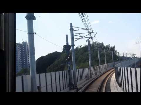 成田スカイアクセス アクセス特急前面展望・3/4 新根古屋→成田湯川
