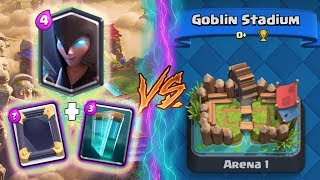Clash Royale | NIGHT WITCH + CLONE TROLLING ARENA 1! | *FUNNY MOMENTS* (Drop Trolling #57)