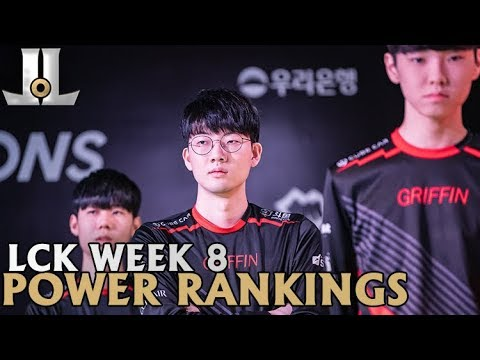 Week 8 LCK Power Rankings: 0-2 Isn't Enough to Drop Griffin | 2019 Spring