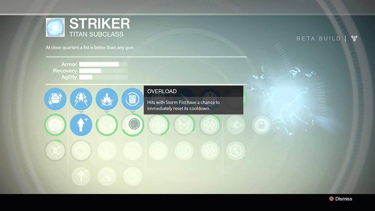 Titan Symbol Destiny Destiny Beta Titan Skill