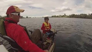 Hobie Pro Angler Kayak Flyfishing Adams Pond in Layton