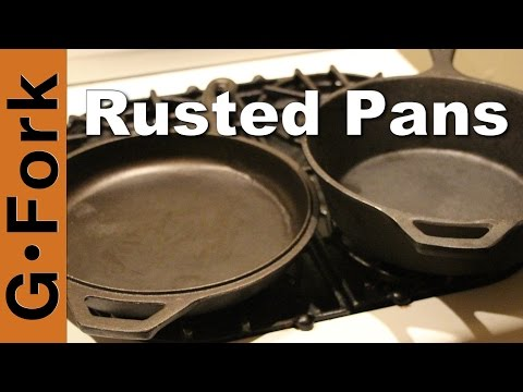 How to Season Heavily Rusted Cast Iron