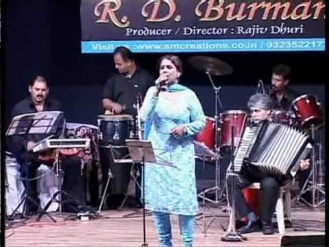 Aisa Sama Na Hota - Zammen Asmaan Sung By Neeta Sharma For The Show (r D Burman Live Show) .wmv video
